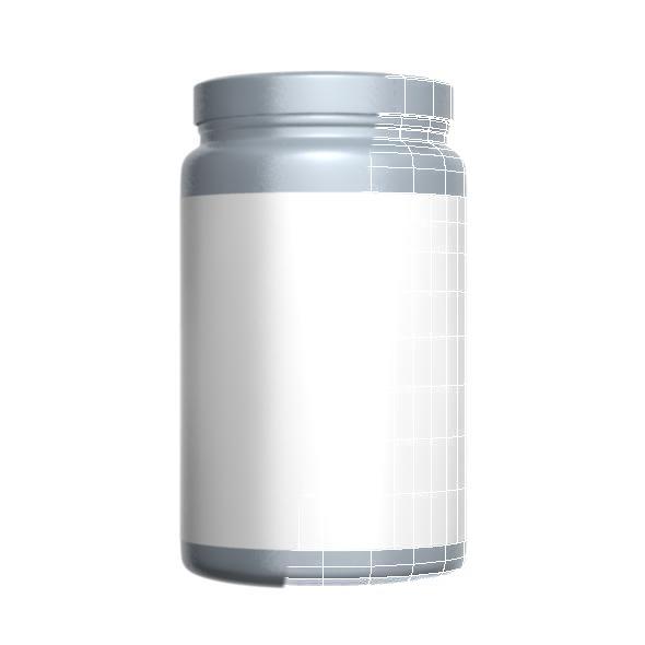 3DOcean Gray Protein Bottle 7709285