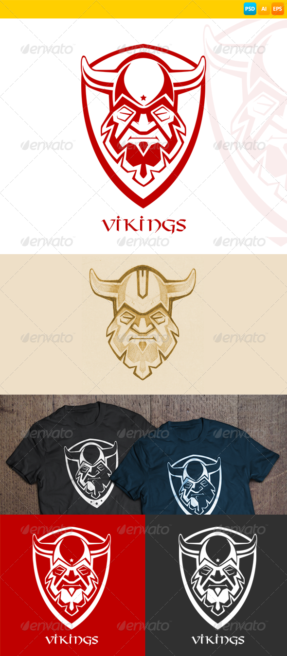GraphicRiver Warrior Logo 7711916