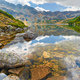 High mountains in Europe. Valley of Five Polish Ponds. Carpathians. - PhotoDune Item for Sale