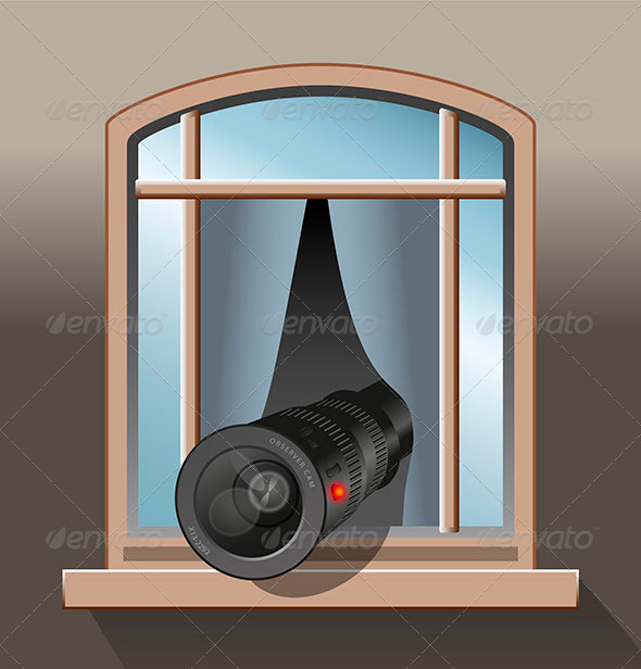 GraphicRiver Surveillance Agent Camera 7715126