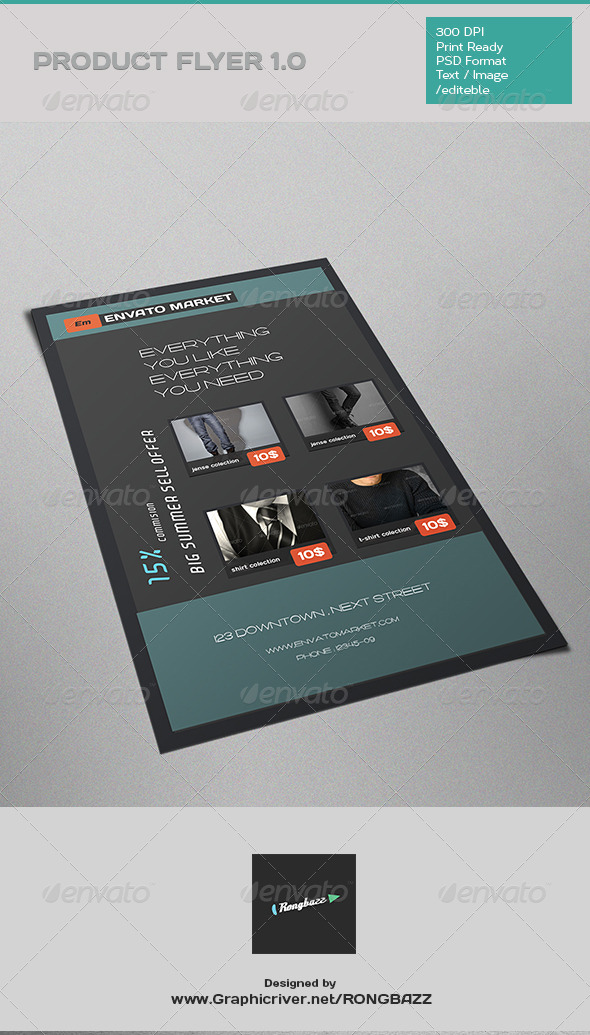 GraphicRiver Products Ad Flyer 1.0 7715438