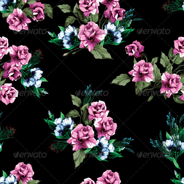 GraphicRiver Floral Pattern 7716481
