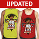 Male Miler Singlet Mock-Up - GraphicRiver Item for Sale