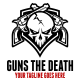 Guns The Death Logo Template - GraphicRiver Item for Sale