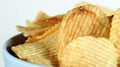 Potato Chips on White Close Up 4 - PhotoDune Item for Sale