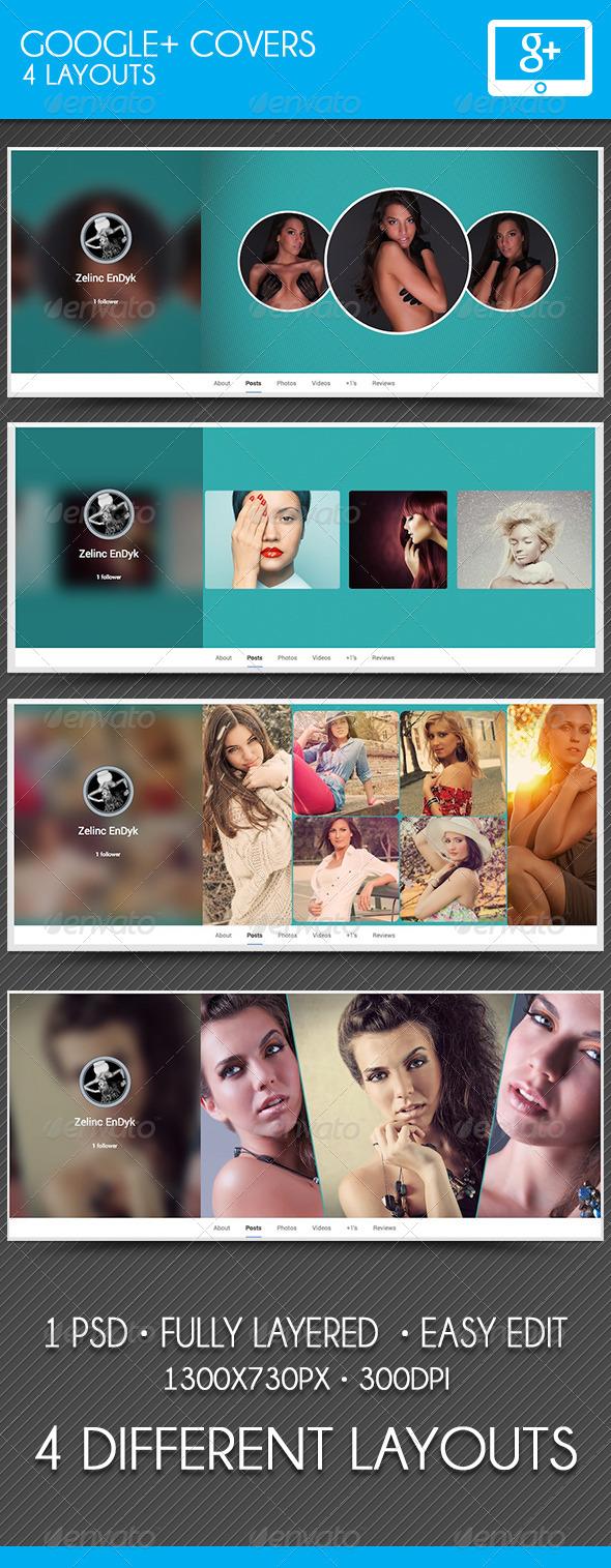 GraphicRiver Google Plus Covers 7703735