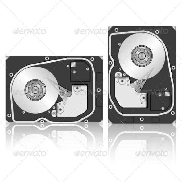 GraphicRiver Computer Hard Drive 7719578