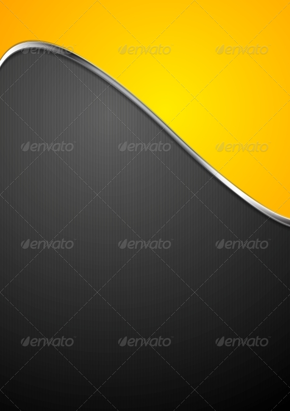 GraphicRiver Abstract Background with Metallic Silver Wave 7721068