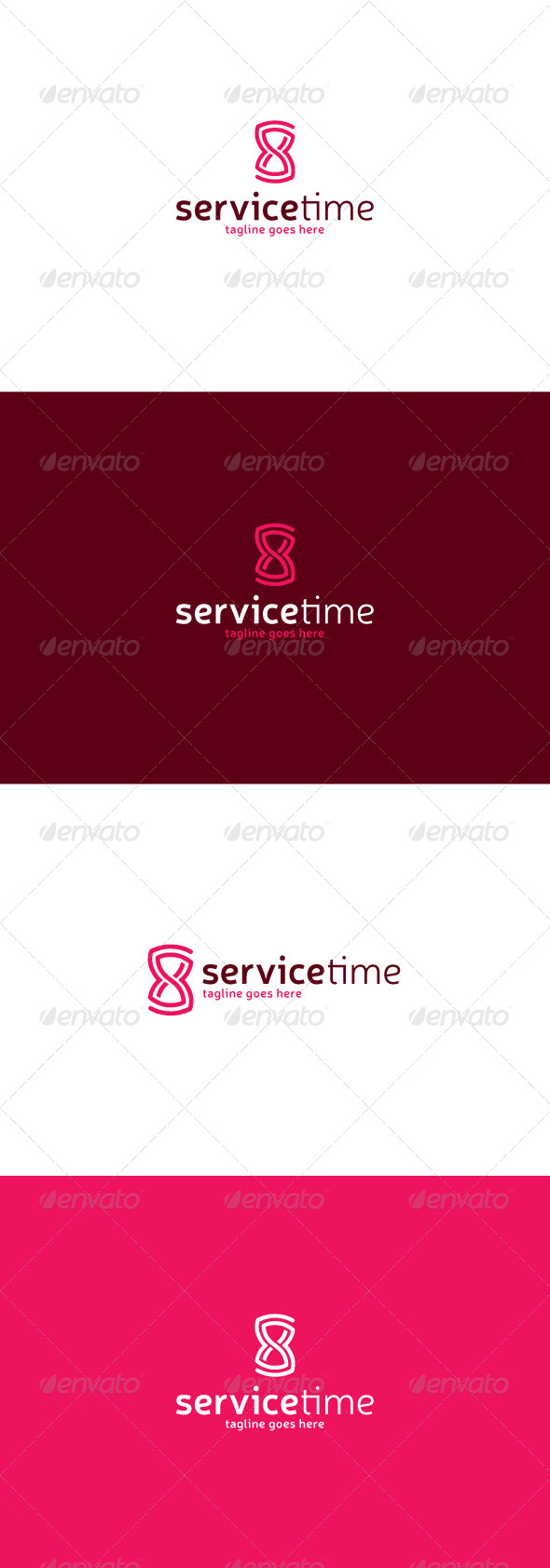 GraphicRiver Service Time Logo 7721356