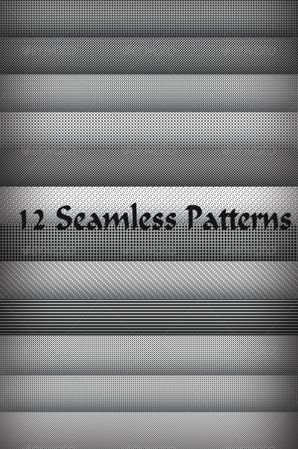 GraphicRiver 12 Seamless Patterns Pack 7721729