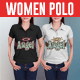 Women Polo Shirt Mock-Ups - GraphicRiver Item for Sale