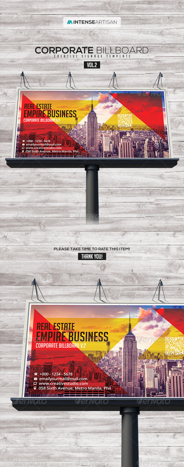 GraphicRiver Billboard Template Signage Vol.2 7722158