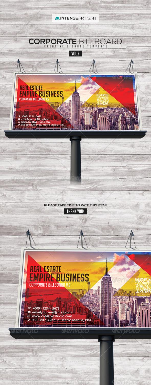 GraphicRiver Billboard Template Signage Vol.2 7722158