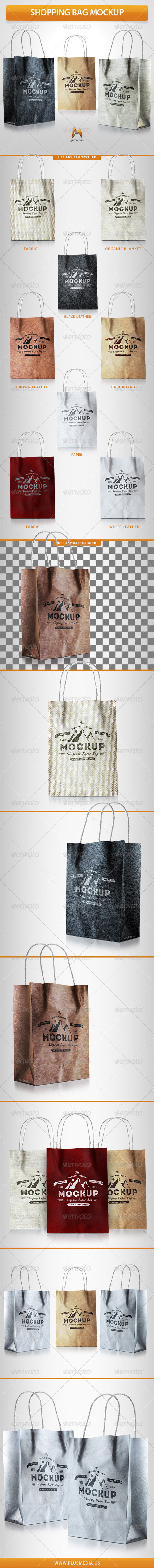 GraphicRiver Shopping Bag Mockup 7709318