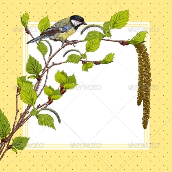 GraphicRiver Birch Branches 7722973