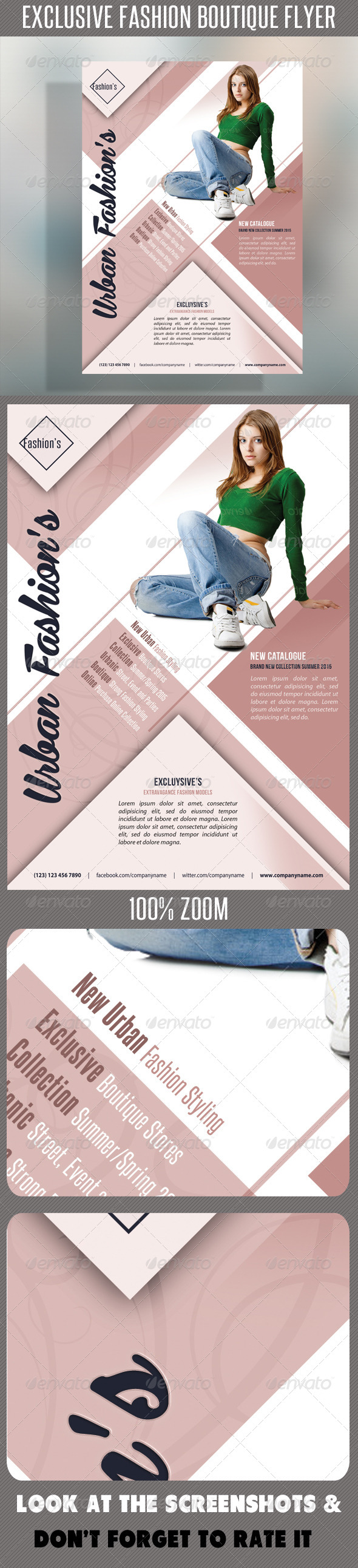 GraphicRiver Fashion Product Flyer 57 7723366