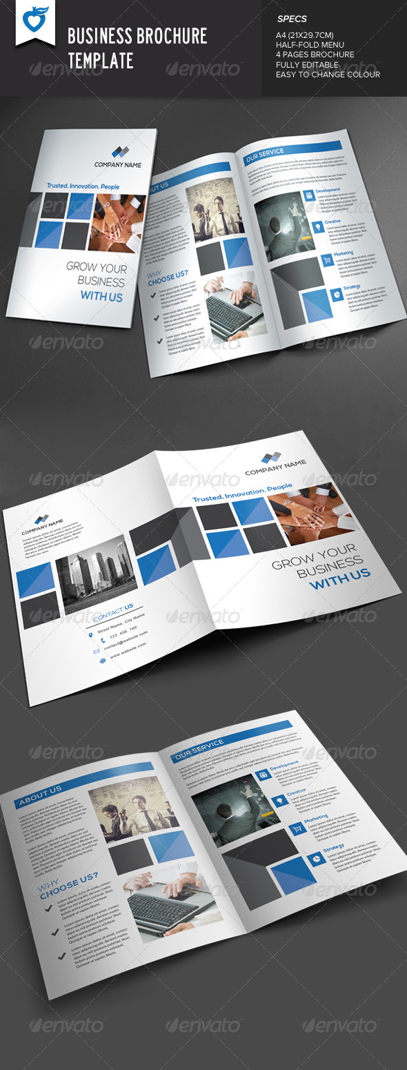 GraphicRiver Business Brochure 7723632