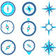 Navigation Compass Icons - GraphicRiver Item for Sale
