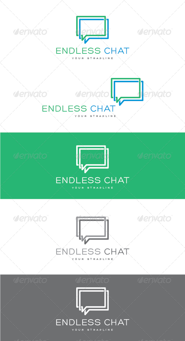 GraphicRiver Endless Chat Logo 7724076