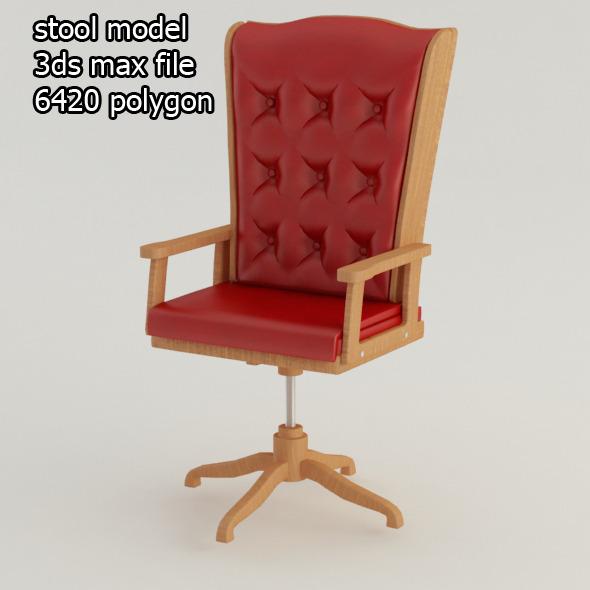 3DOcean stool 7724592