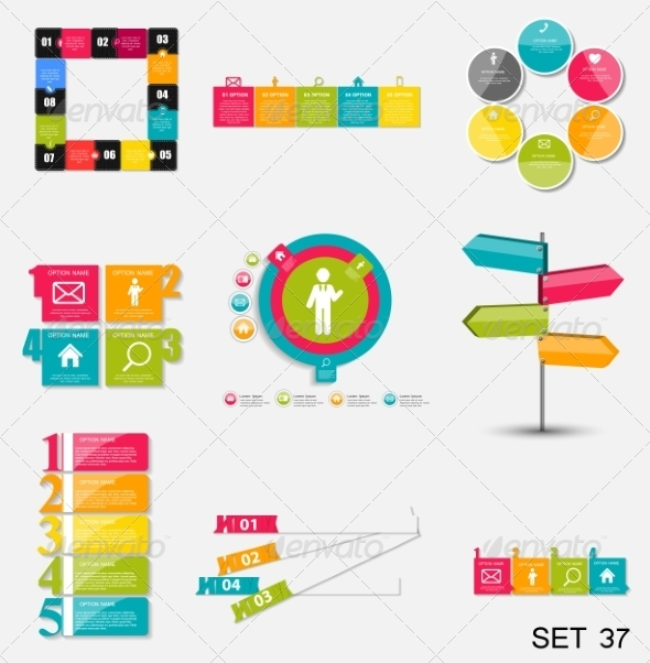 GraphicRiver Collection of Infographic Templates for Business 7724802