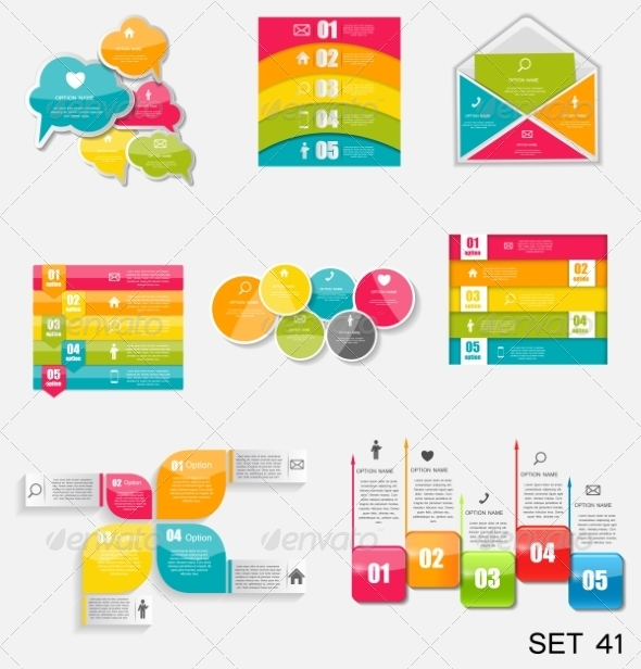 GraphicRiver Collection of Infographic Templates for Business 7724812