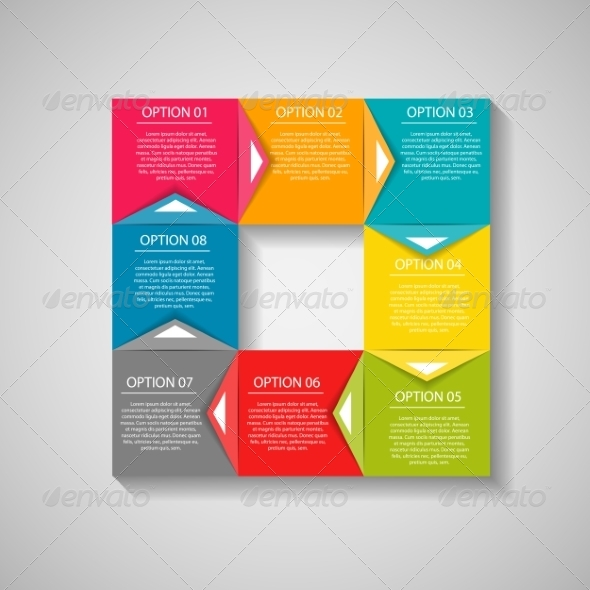 GraphicRiver Infographic Template 7724851