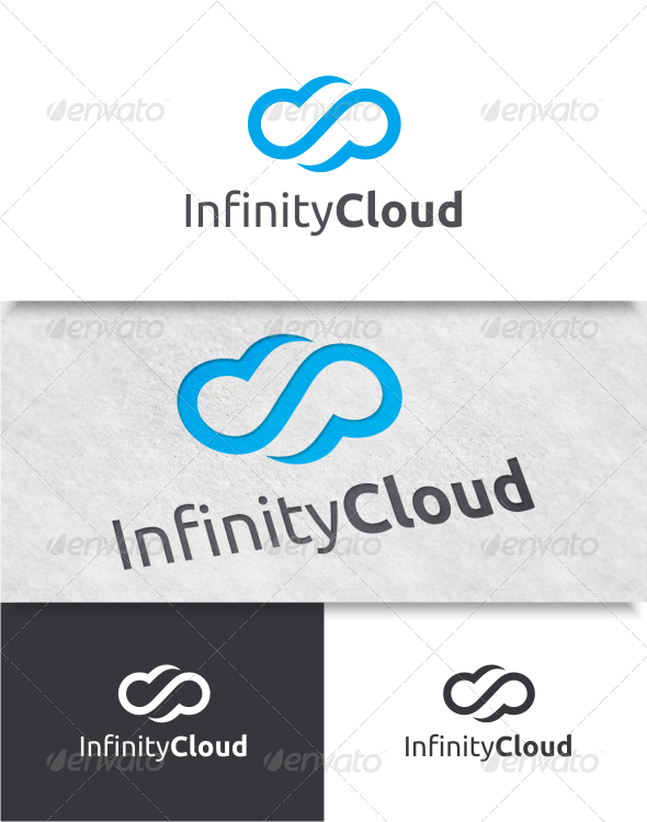 GraphicRiver Infinity Cloud Logo 7685778