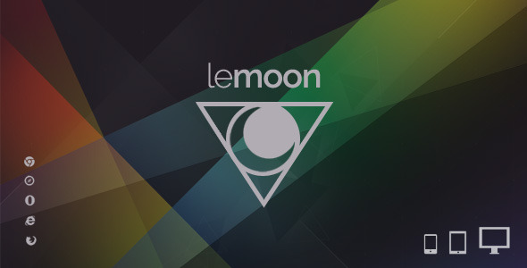 ThemeForest Lemoon Responsive Comingsoon Template 7631611