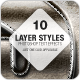 Action Layer Styles - Metal, Grunge, Wood, Nature - GraphicRiver Item for Sale