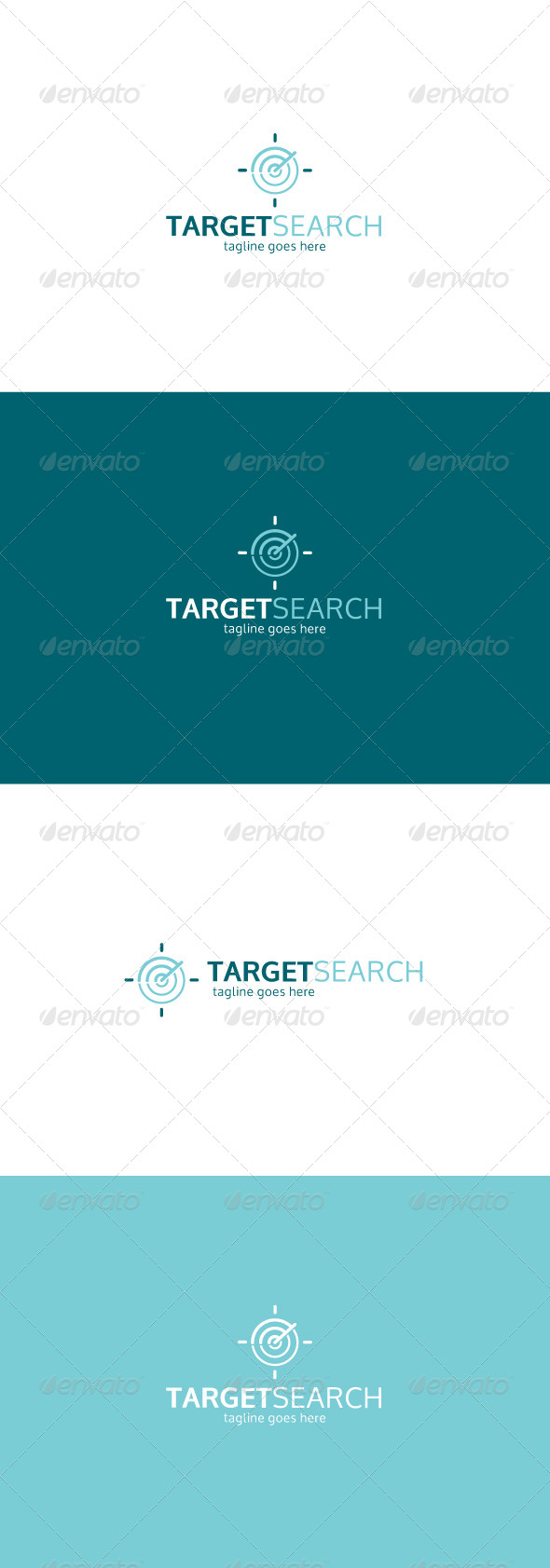 GraphicRiver Target Search Logo 7731538