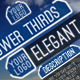 Elegant Lower Thirds - VideoHive Item for Sale