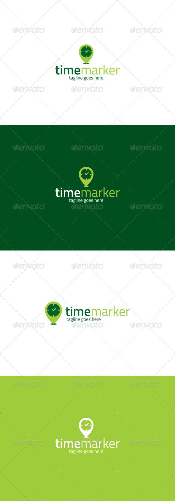 GraphicRiver Time Marker Logo 7731641