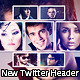4 Collage New Twitter Profile Header Backround - GraphicRiver Item for Sale