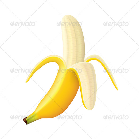 GraphicRiver Ripe Banana 7733902