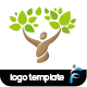 Health Logo - GraphicRiver Item for Sale