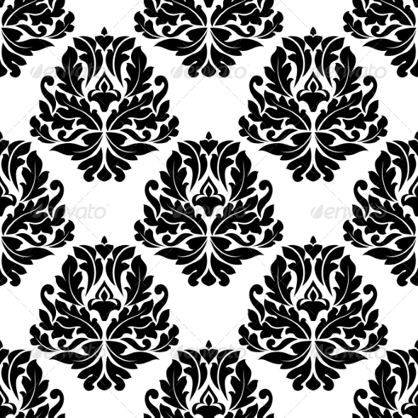 GraphicRiver Damask Seamless Pattern 7735100