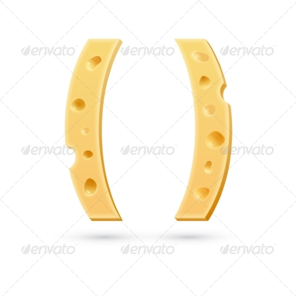 GraphicRiver Cheese Brackets Mark 7735192