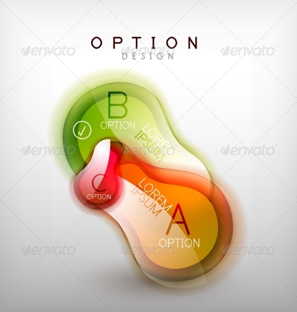 GraphicRiver Colorful Glossy Bubble Infographics 7736422