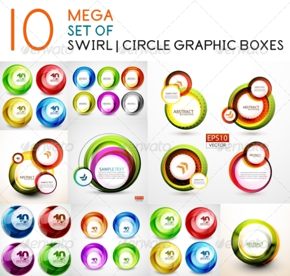 GraphicRiver Swirl Banner Collection 7736699