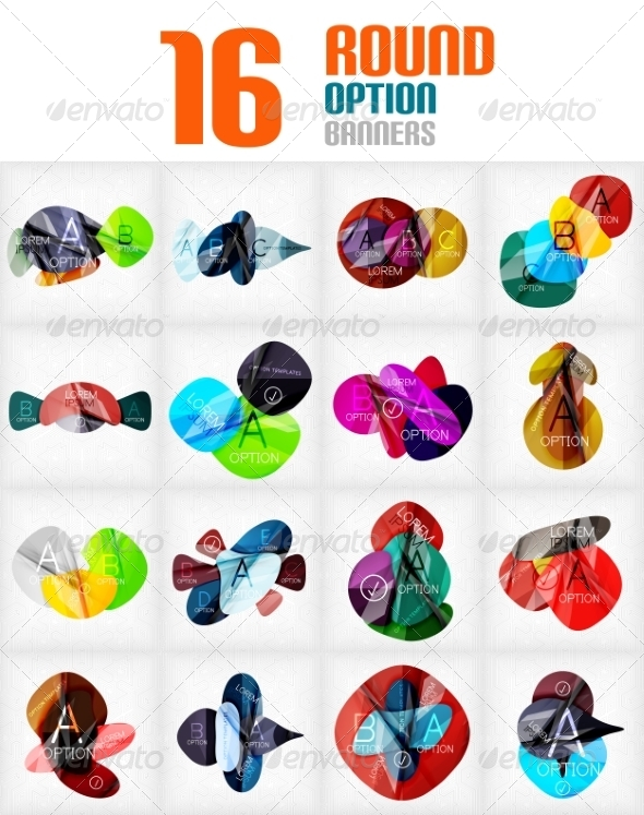 GraphicRiver Mega Collection of Circle Infographics 7736721