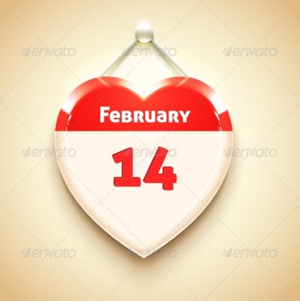 GraphicRiver Valentine App Icon Heart 7737923
