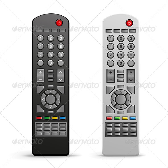 GraphicRiver TV Remote Controller 7740002