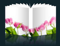 pink tulip book - PhotoDune Item for Sale