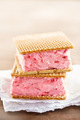 Strawberry sandwich ice cream - PhotoDune Item for Sale