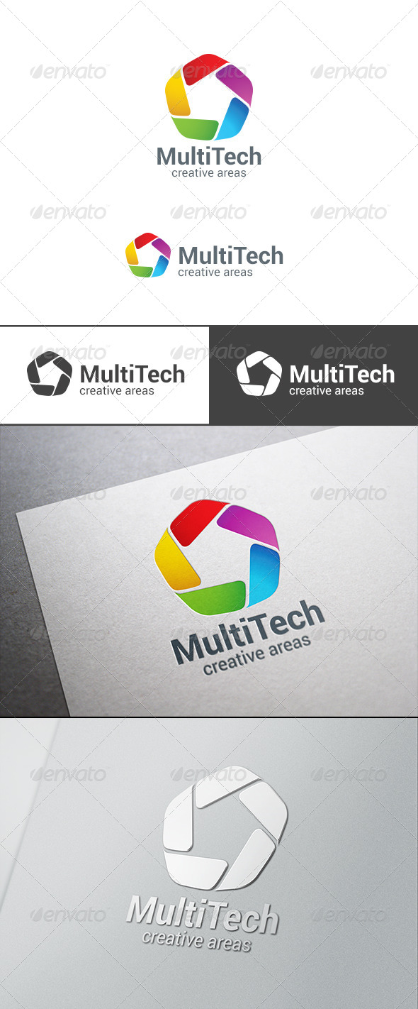GraphicRiver Corporate Business Technology Logo Infinity 7707720