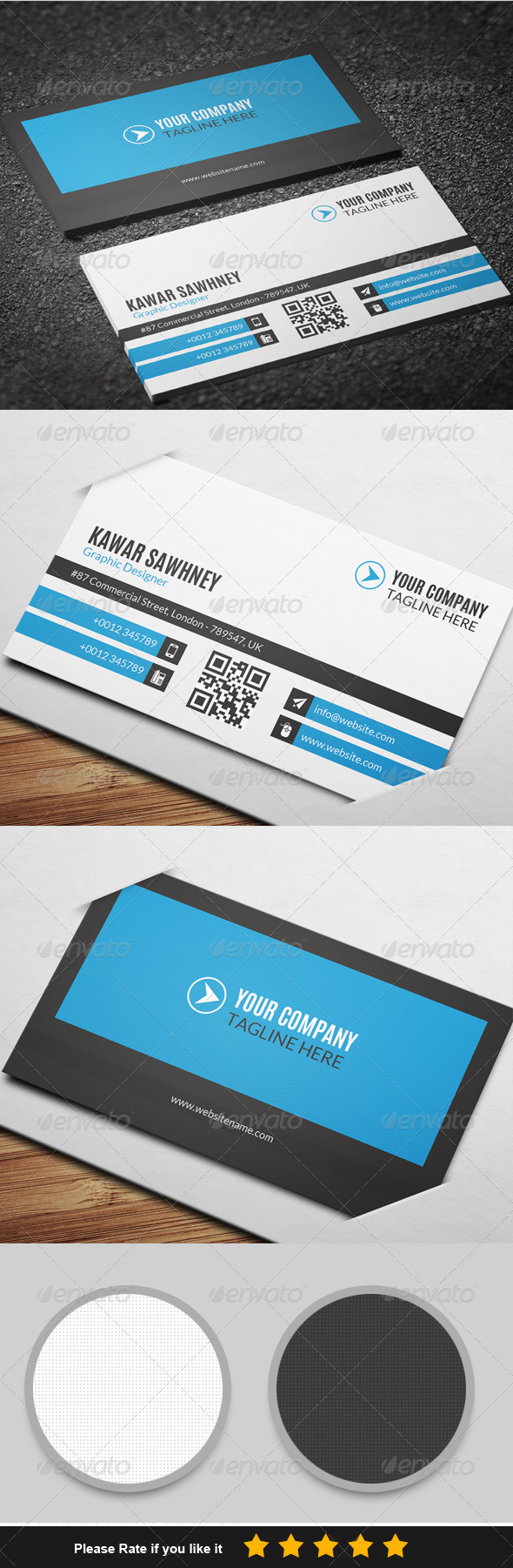 GraphicRiver Corporate Business Card 5 7712756