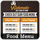 Food Menu - Flyer - GraphicRiver Item for Sale