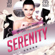Serenity Theme Flyer - GraphicRiver Item for Sale