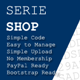 SerieShop – Simple Serials, Coupon, Vouchers Store (Shopping Carts) Download